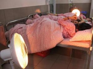 Rét đậm kéo dài, trẻ nhỏ liên tiếp mắc bệnh hô hấp, bà bầu dễ bị tiền sản giật