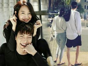 """Cả thế giới cứ việc ly hôn, Shin Min Ah vẫn làm bạn gái """"tào khang"""" của Kim Woo Bin"""