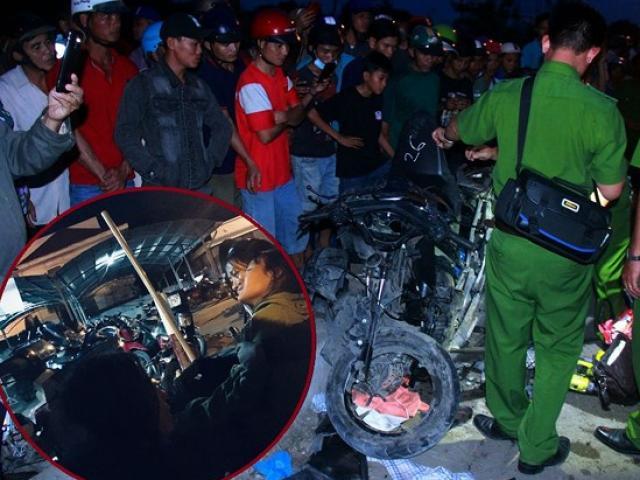 Tai nạn kinh hoàng tại Long An: Bó nhang bên đường và lời khóc nghẹn Về nhà con trai ơi