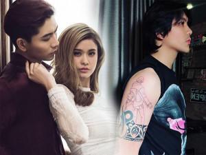 Xóa hình xăm tên vợ cũ Trương Quỳnh Anh, Tim xăm hẳn hình ảnh tình mới lên bắp tay