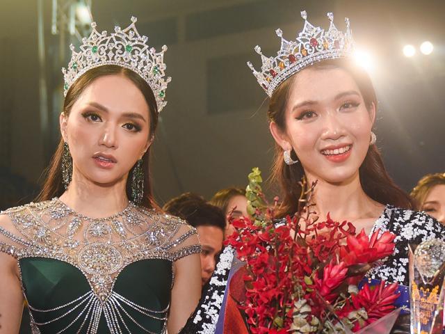 Cô gái vừa giành ngôi Quán quân, kế vị Hương Giang thi Hoa hậu Chuyển giới 2019 là ai?