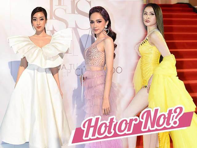 Thời trang sao Việt tuần qua: Hương Giang, Bảo Anh đẹp xuất sắc, Thư Dung kém sang vô cùng