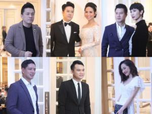 Hàng loạt ngôi sao lớn tưng bừng hội ngộ trong đám cưới của ca sĩ Lê Hiếu