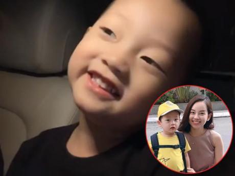 """Mới 3 tuổi, con trai Ly Kute nịnh mẹ quá """"dẻo"""", Đan Lê và Diệp Lâm Anh phải thốt lên!"""