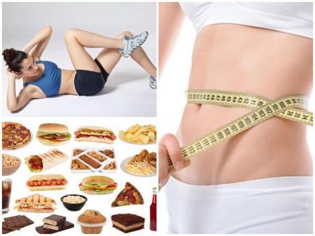 Cách giảm mỡ bụng hiệu quả bằng chế độ ăn và bài tập đúng cách