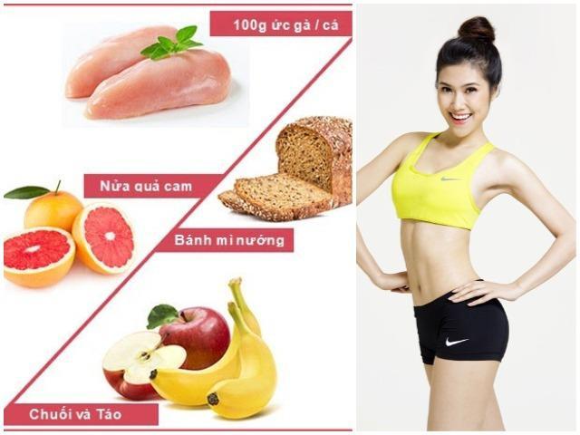 2 thực đơn giảm cân hiệu quả tức thì 8kg trong 7 ngày