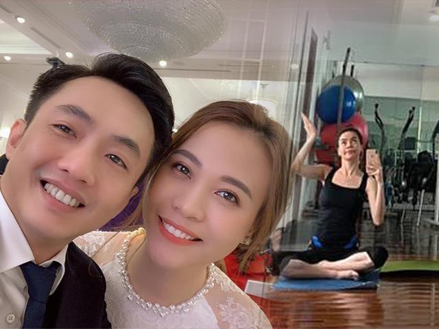 Hồ Ngọc Hà tập yoga tiết lộ bí quyết làm đẹp trong ngày... Cường Đô La đi lấy vợ mới