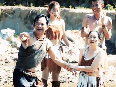 """Phim bị chê như khiêu dâm, Quang Tèo: """"Thi sắc đẹp cởi gần hết còn được nữa là hài Tết"""""""