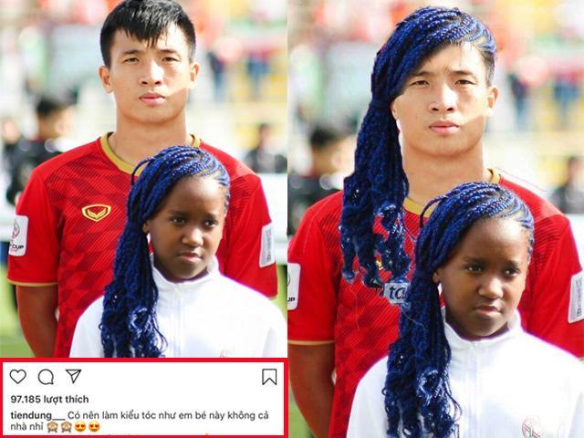 Bùi Tiến Dũng hỏi ý dân mạng về kiểu tóc mới và cái kết đắng lòng!