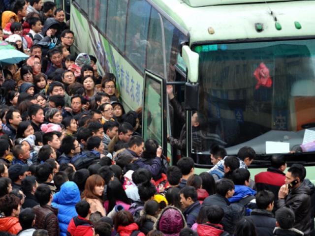 Người dân TQ chuẩn bị cuộc di cư lớn nhất hành tinh, 3 tỷ lượt đi lại trong 40 ngày