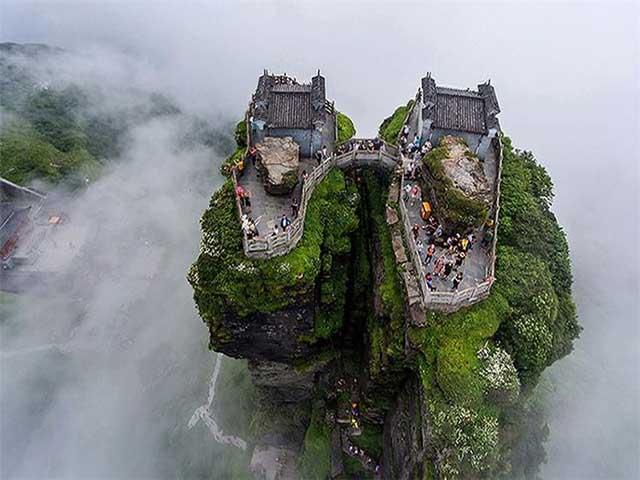 Sửng sốt trước thành phố bầu trời mà người Trung Quốc bảo tồn hơn 500 năm