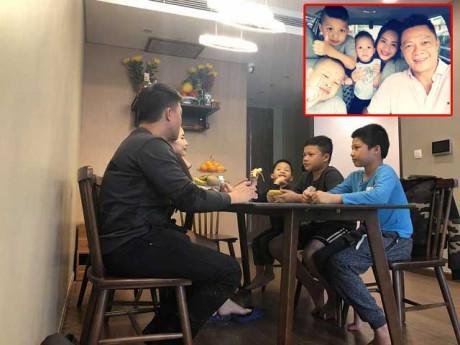 Sao Việt 24h: Họp gia đình căng thẳng nhưng 3 con trai của BTV Quang Minh lại gây chú ý
