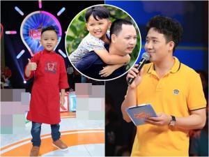"""Con trai Nguyễn Hải Phong tiết lộ """"bí mật động trời"""" của bố trước mặt Trấn Thành"""