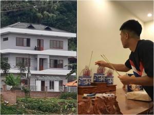 Cận cảnh ngôi nhà 2 tỷ Đức Chinh mới xây để báo đáp bố: Nhìn mà rớt nước mắt!