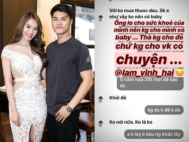 Lâm Vinh Hải thẳng thắn với Linh Chi: Không muốn sinh con, thậm chí quyết triệt sản