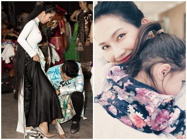 Những người đẹp Việt một bước thành bà hoàng khi lấy chồng 2, yêu con riêng như máu mủ