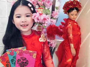 Á hậu siêu nhí Thế giới 2018 gốc Việt cùng mẹ gìn giữ ngày Tết cổ truyền quê hương