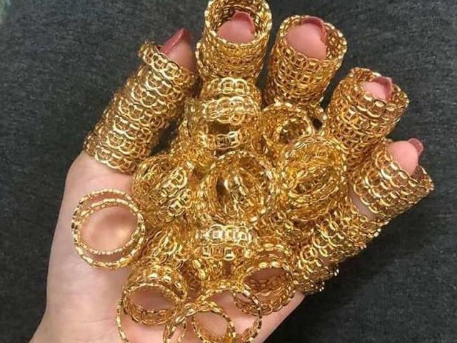 Nhẫn kim tiền, nhẫn lông voi giá siêu rẻ rao bán rầm rầm cận ngày Vía Thần tài