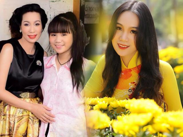 Mới ngày nào mũm mĩm, con gái Trịnh Kim Chi lột xác thành thiếu nữ đẹp phổng phao