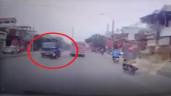 Vượt ẩu, đôi nam nữ lao thẳng vào đầu xe tải