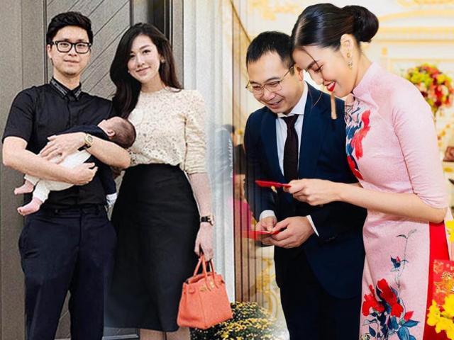 Tết đầu làm dâu của Á hậu Tú Anh, Thanh Tú, Lan Khuê thế nào?