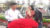 """Sự thật clip Ngân Anh được bạn trai soái ca quỳ gối """"tỏ tình"""", nhận hoa """"khủng"""" dịp Valentine"""