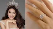 """Ngày Valentine, Phạm Hương """"thông báo hết ế"""" bằng chiếc nhẫn kim cương khủng"""