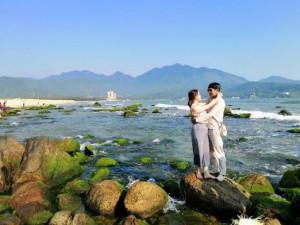 """Bãi Rạn Nam Ô: Điểm du lịch """"cực hot"""" của giới trẻ Đà thành"""