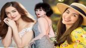 """Ngược đời nhan sắc càng sinh nở càng đẹp của """"Mỹ nhân đẹp nhất Philippines"""" cùng 3 mẹ bỉm Vbiz"""