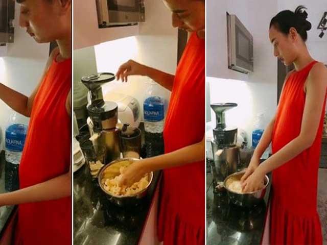 Sao Việt 24h: Lê Thúy lộ bụng to lùm lùm sau tuyên bố nghỉ show để làm mẹ