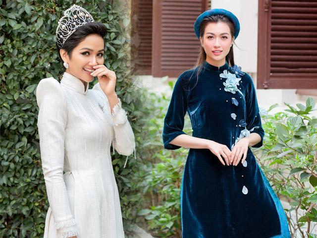 Hoa hậu đẹp nhất thế giới HHen Niê, Lệ Hằng trở thành đại sứ Lễ hội Áo Dài 2019