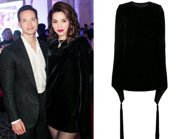 Diện váy nhung gần 80 triệu, Hồ Ngọc Hà vẫn trông dừ hơn người tình Kim Lý