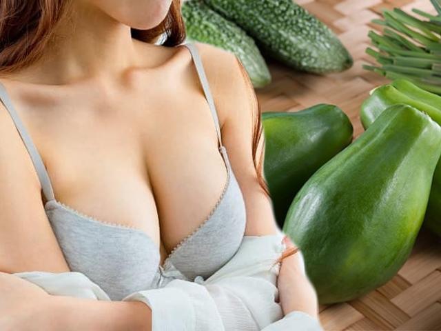Chẳng cần nâng ngực hay độn vài lớp vẫn có vòng 1 quyến rũ nếu thường xuyên ăn thứ này