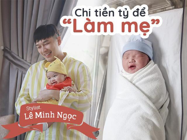 Chi tiền tỷ để làm mẹ, stylist Lê Minh Ngọc bật khóc khi em bé không có tim thai