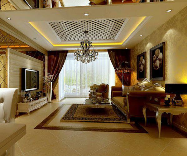 Những mẫu nội thất phòng khách đẹp có thiết kế vạn người mê - 11