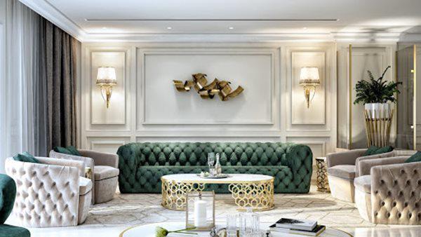 Những mẫu nội thất phòng khách đẹp có thiết kế vạn người mê - 13
