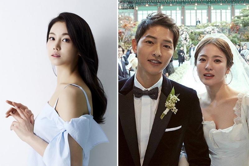 """Mới đây, lại một thông tin khác xoay quanh những đồn đoán về sự rạn nứt tình cảm của cặp đôi Song Joong Ki và Song Hye Kyo khiến dân tình hoang mang. Theo đó, """"tiểu tam"""" được cho là phá hoại hạnh phúc của Song-Song chính là Kim Ok Bin - Cô dâu Hà Nội."""