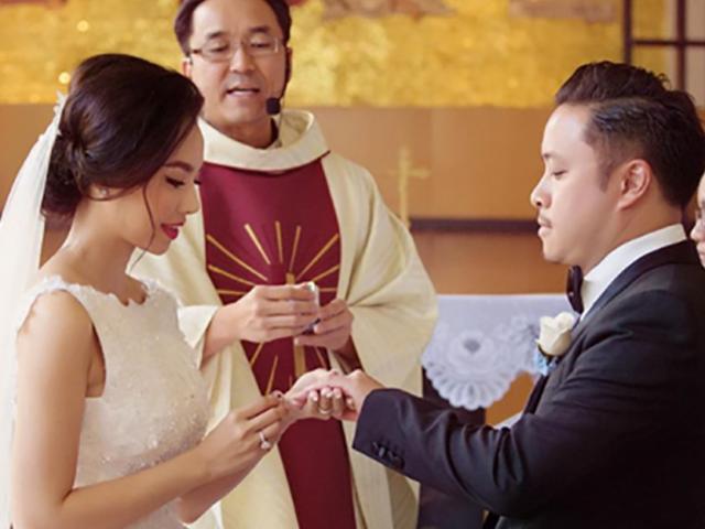 Đinh Ngọc Diệp ví cuộc sống như thiên đường sau khi lấy chồng