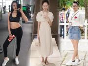 """Hội mỹ nhân xuống ký thần tốc sau sinh nở: Đặng Thu Thảo giảm 13kg còn thua  """" cao thủ """"  này"""