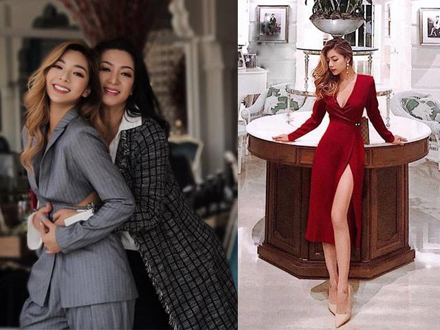 Nhan sắc Rich Kid mới của Việt Nam: mẹ là Hoa hậu, bố là chưởng môn phái Vịnh Xuân
