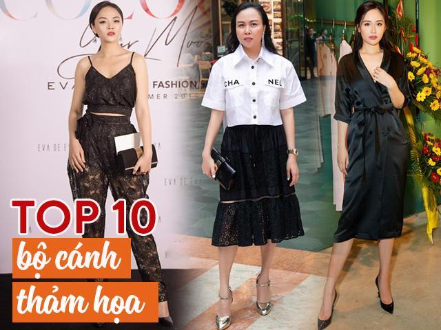 Top 10 bộ cánh thảm họa tuần qua: Mai Phương Thúy diện đầm ngủ đi sự kiện, Phượng Chanel thì...