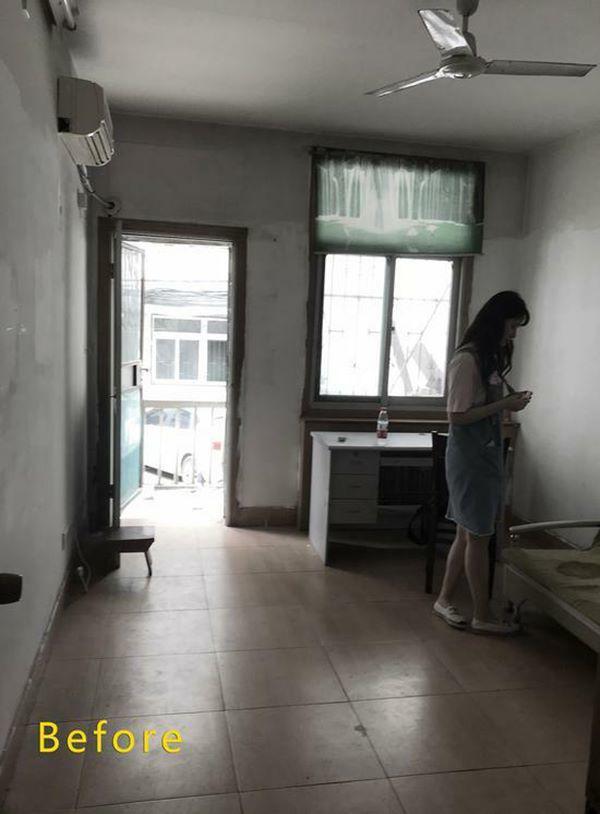 Mua lại căn nhà tập thể cũ, 9X tự tay cải tạo đẹp mê hồn ai nhìn cũng thán phục