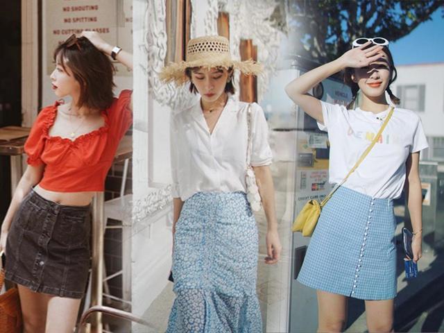 Sài Gòn nóng nực mà diện chân váy thì hết sẩy, nhưng 100% không phải 4 kiểu lỗi thời này