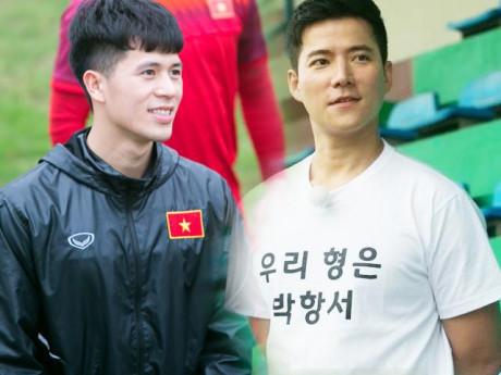 """""""Ông trùm"""" và """"ông mai"""" cho vợ chồng Song Hye Kyo thăm buổi tập của U23 Việt Nam là ai?"""