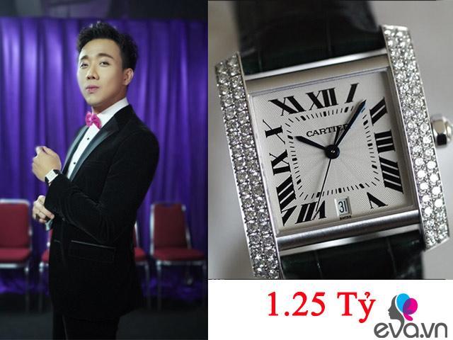 Kho hàng hiệu của Hari Won có lẽ chưa là gì với BST đồng hồ tiền tỷ của Trấn Thành