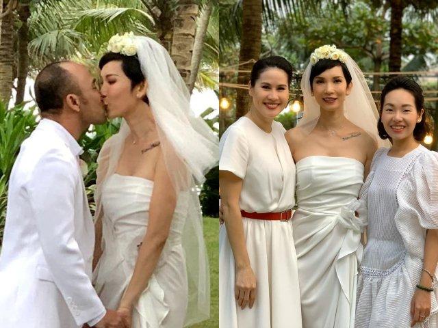 Xuân Lan đám cưới lần 2 ở tuổi 42, danh tính chú rể đã được công khai