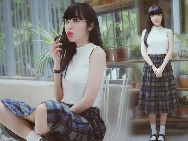 Elly Trần từ bà mẹ 2 con thành mỹ nhân 18 tuổi với set đồ dễ không tưởng