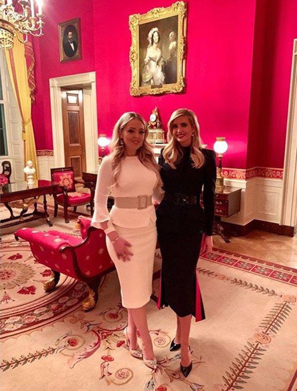 Từng bị tăng cân quá đà, con gái út của TT Trump đã lấy lại phong độ