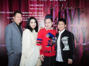 Tùng Dương, Thanh Lam kết hợp cùng tam ca Đăng Dương, Trọng Tấn, Việt Hoàn trong liveshow đầu năm
