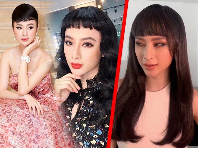 Vừa tuyên bố ăn chay trọn đời, Angela Phương Trinh có luôn mái tóc siêu ngố